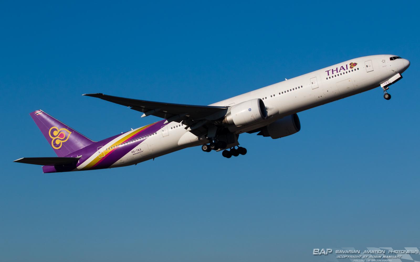 HS-TKX Thai Airways B777 @ MUC