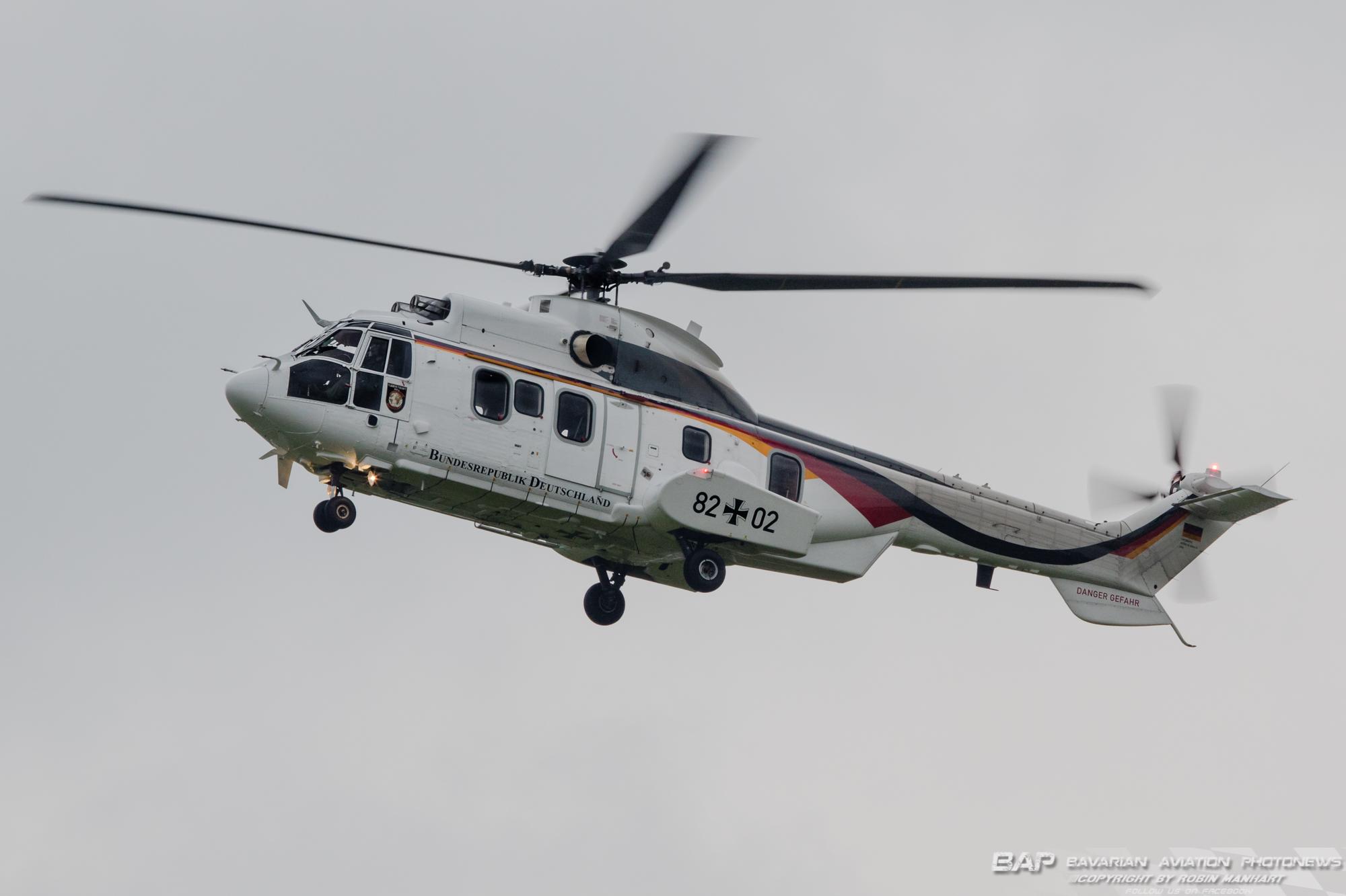 82+02 AS532U2 FBS German Airforce;