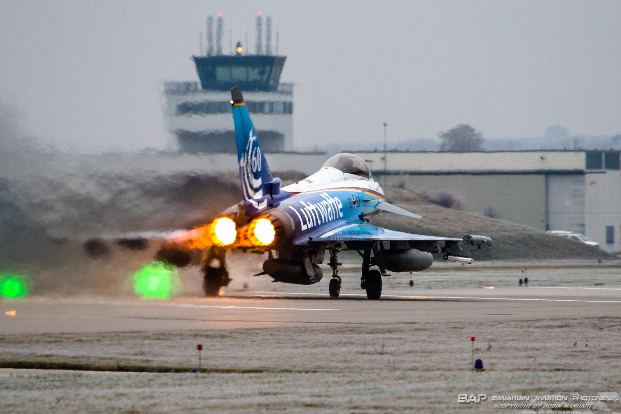 "30+68 Eurofighter GS TLG74 GAF ""60 Years Luftwaffe c/s"";"