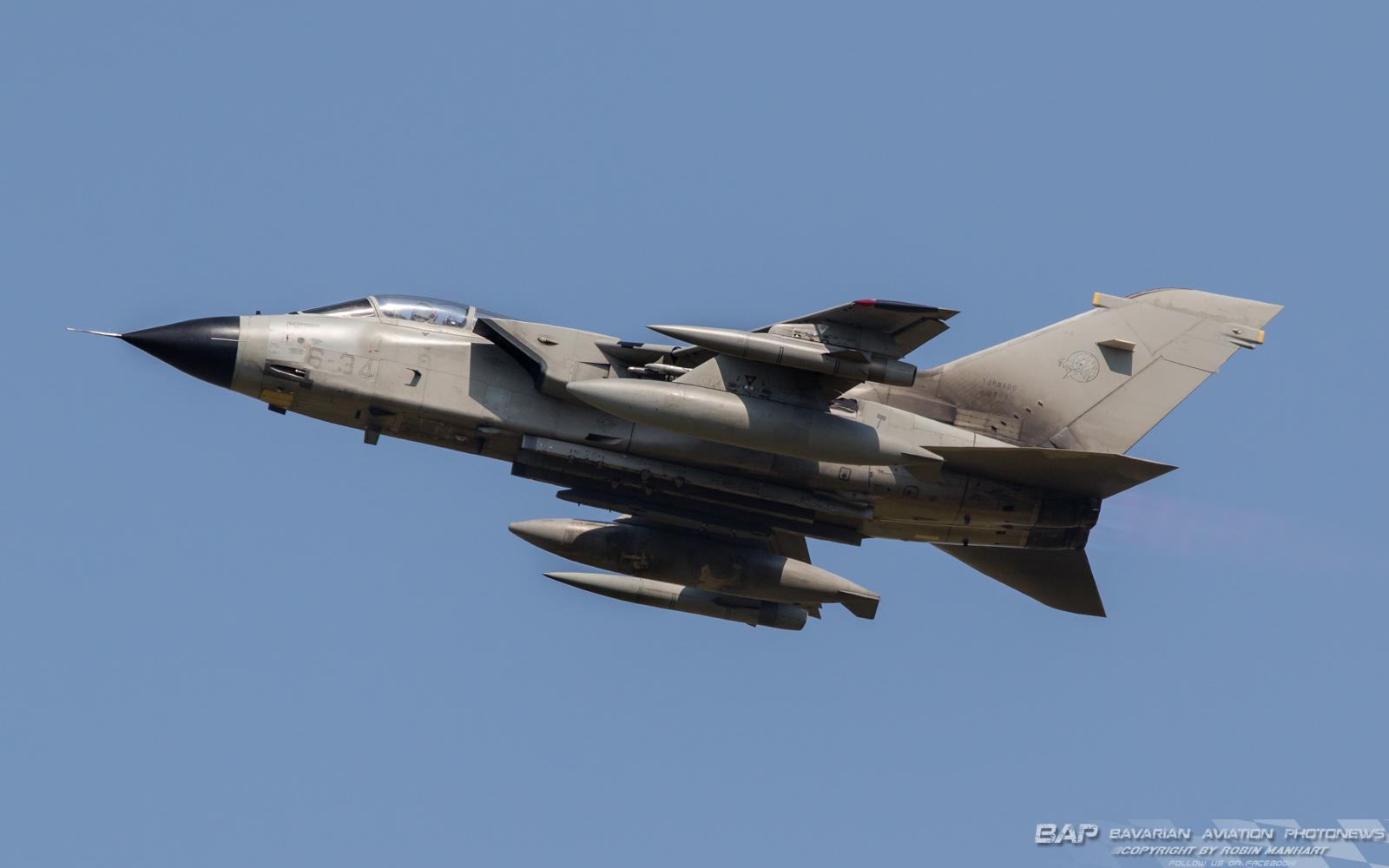 MM7073 6-34 Tornado IDS 6th Stormo ITAF @ Lechfeld (LCH/ETSL)