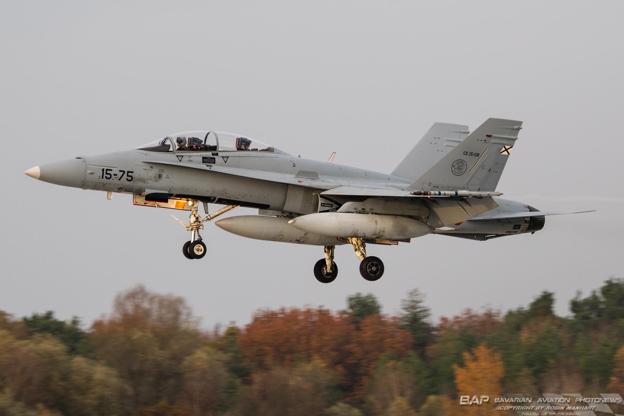 CE.15-06/15-75  EF-18BM ALA15 AME;