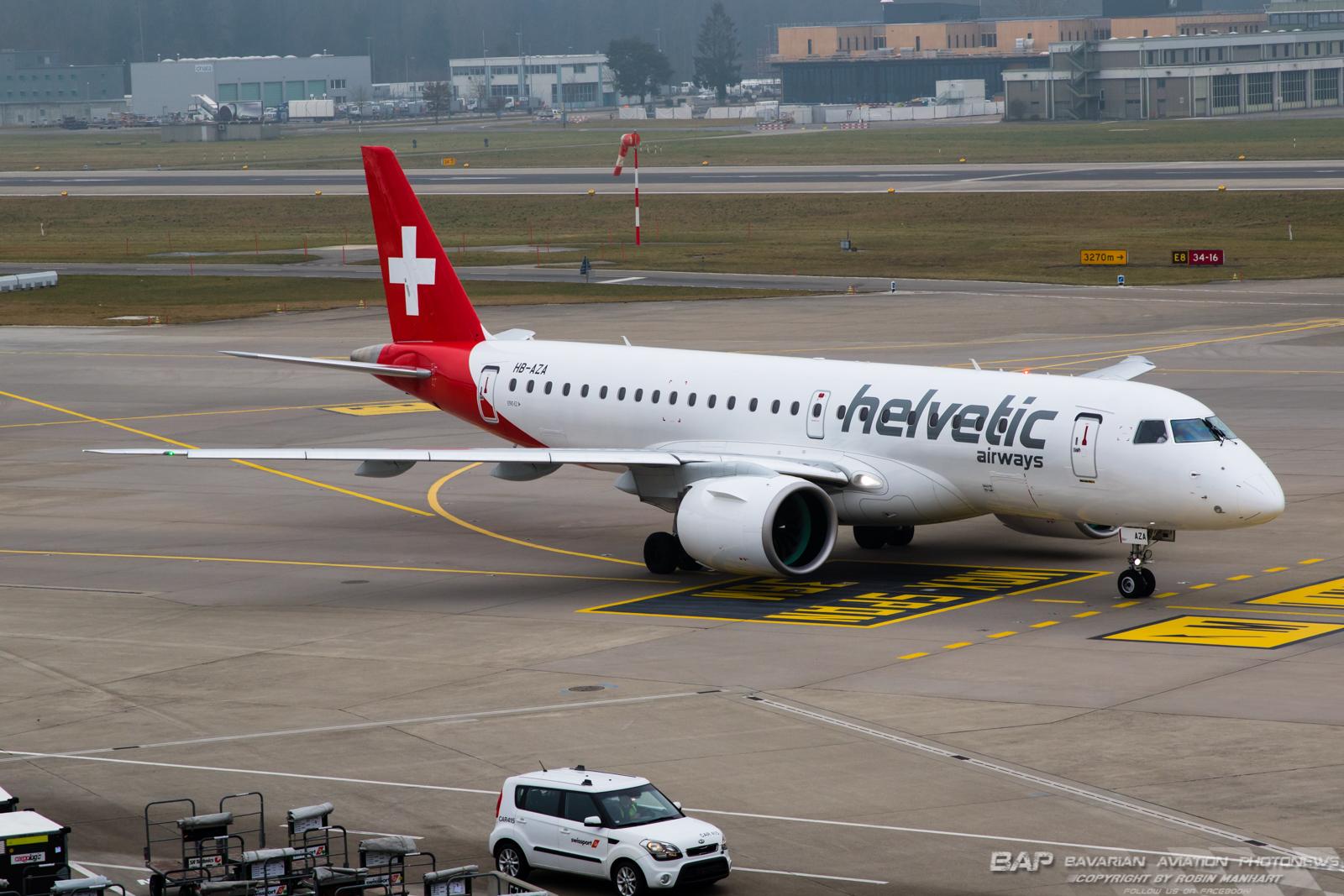 HB-AZA E290 HELVETIC AIRWAYS