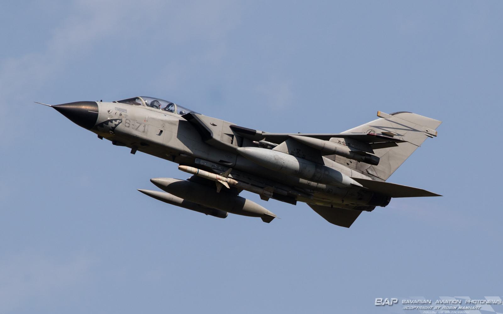 MM7070 6-71 Tornado ECR/IT 155°Gruppo / 6th Stormo @ Lechfeld (LCH/ETSL)