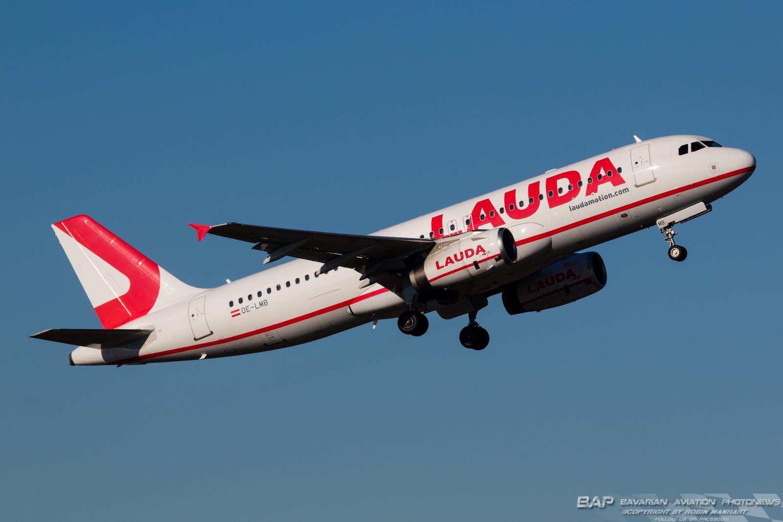 OE-LMB Laudamotion A320 @ MUC