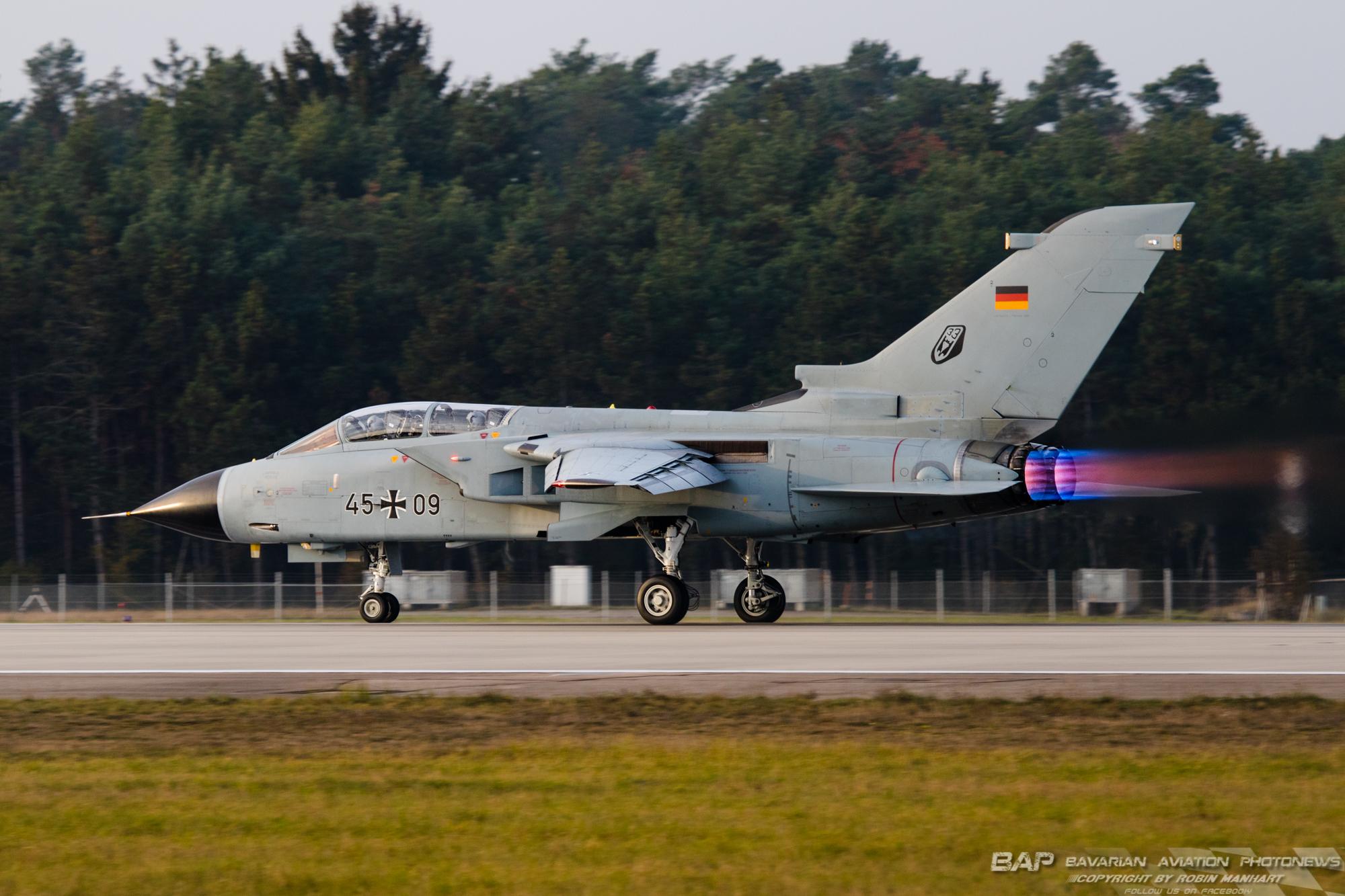 45+09 Tornado IDS ASSTA3 TaktLwG 33 GAF;