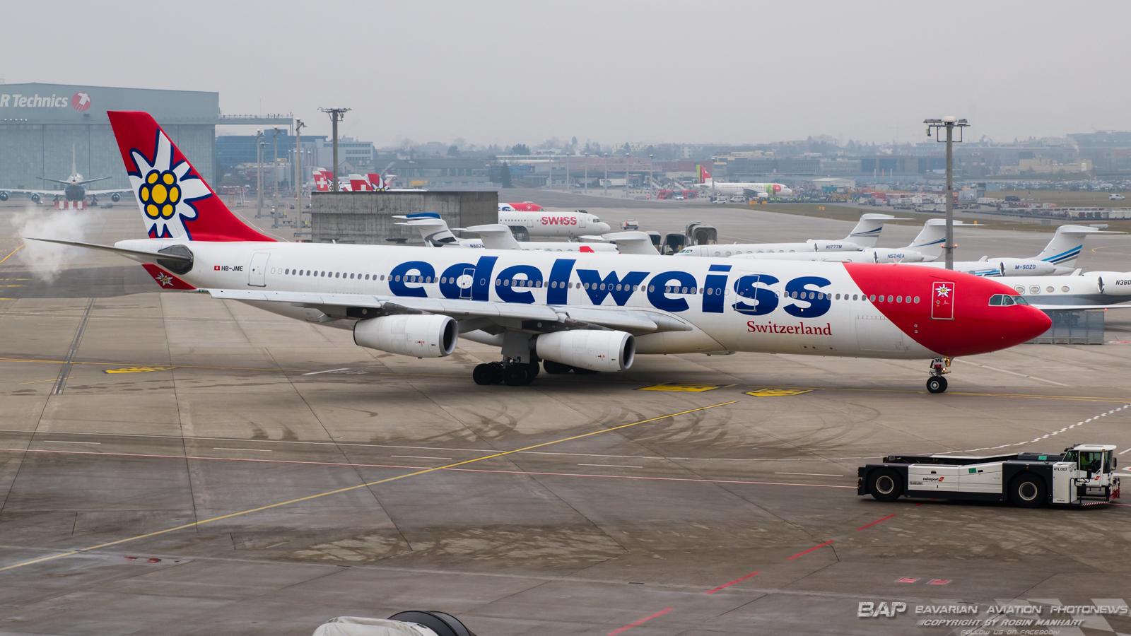 HB-LME A343 EDELWEISS