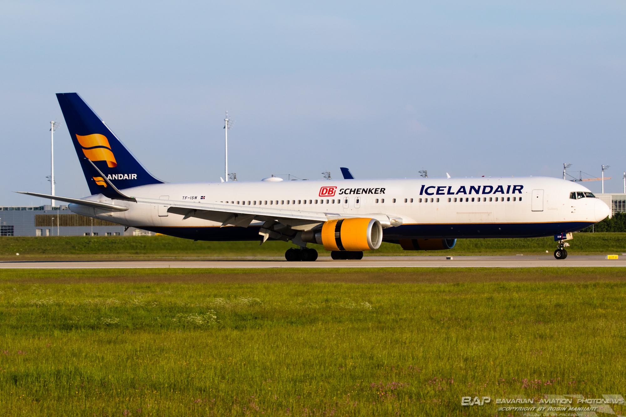"""TF-ISW B762 Icelandair """"DB Schenker"""" @ MUC"""