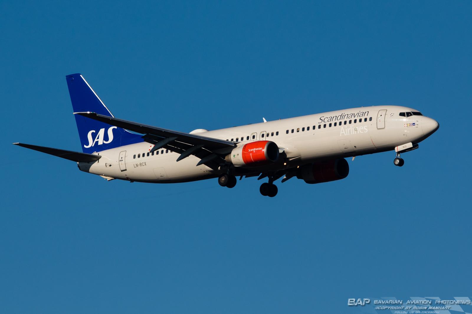 LN-RCX Scandinavian B737 @ MUC