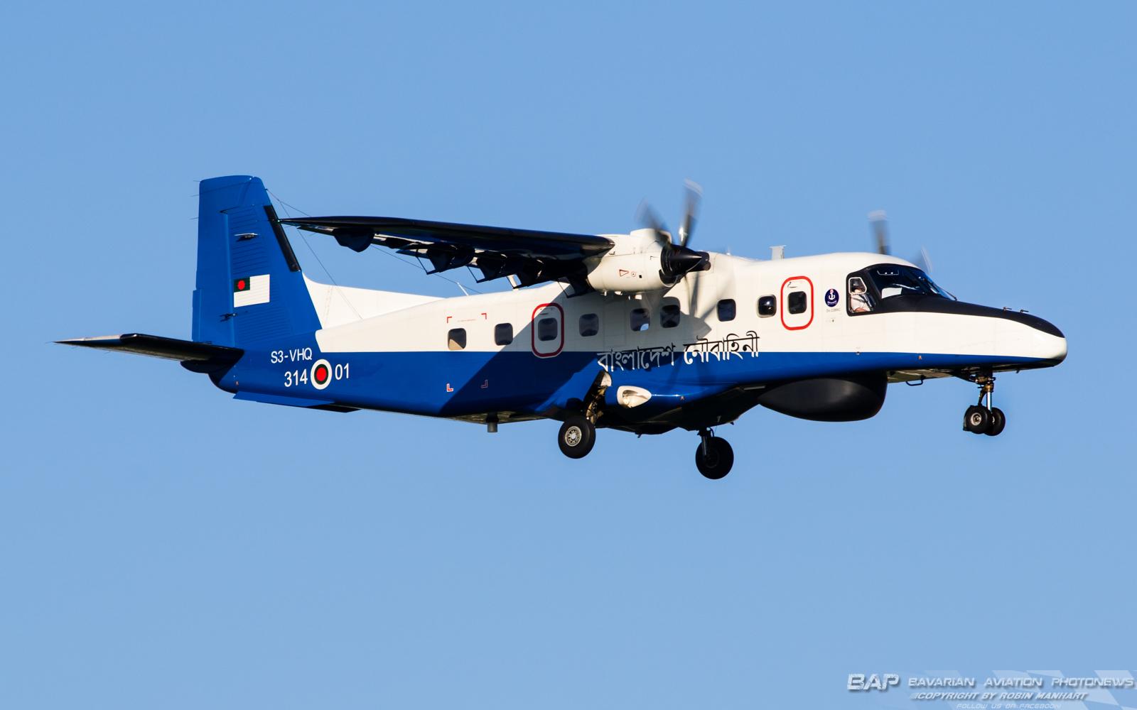 Bangladesh Navy  Do-228NG 314-01 / S3-VHQ (cn 8306) @ Oberpfaffenhofen (OBF / EDMO)