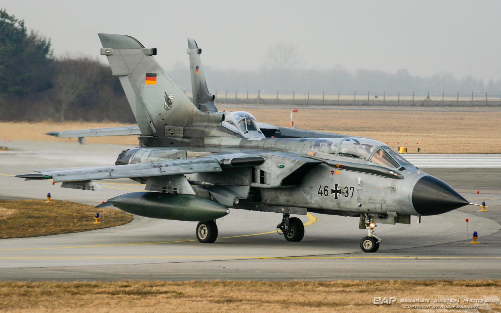Two Tornado's of the mighty JaboG32 on their way for another mission out of Lechfeld
