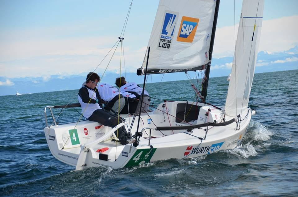 J/70 während Swiss Sailing League