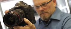 Stefan Czech mit neue Canon 1D X