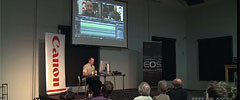 dforum 2011: Stefan Czech zeigt Liveschnitt eines Trailer mit EDIUS