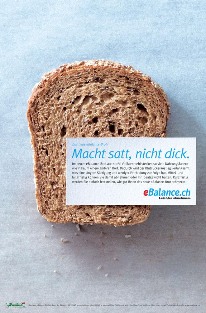 Lancierung eBalance Brot