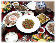 Photo of Korean asian food, meals and dishes - Foto von koreanischem asiatischen Essen