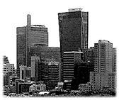Picture of high buildings and skyscrapers. Bilder von Wolkenkratzern und Hochhäusern.