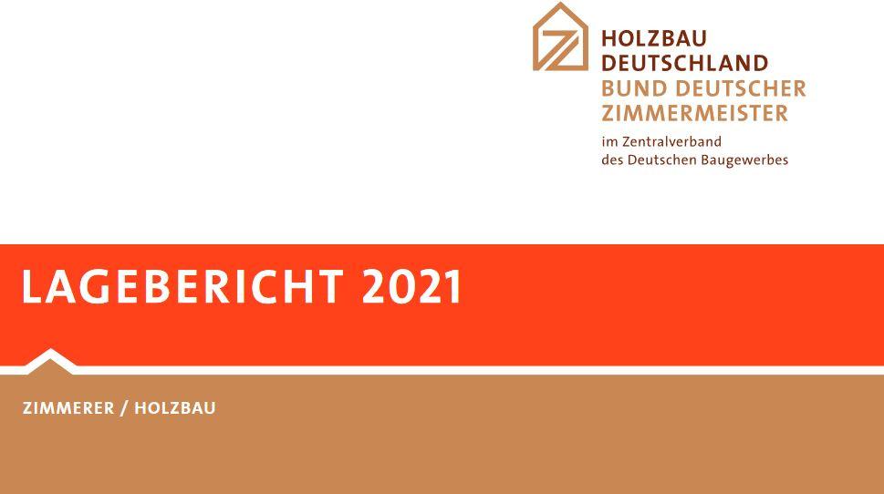Lagebericht 2021: Holzbauquote erstmals über 20 Prozent