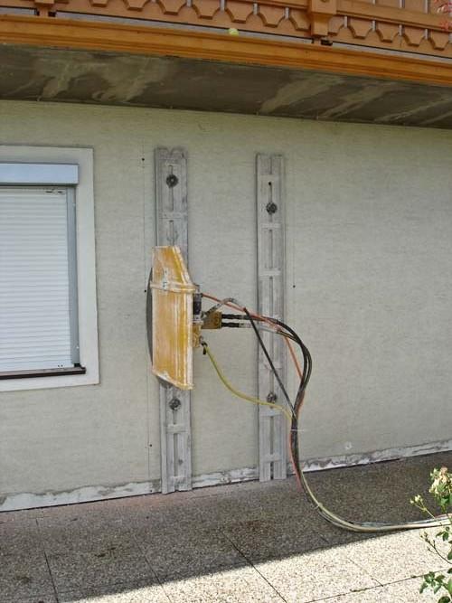 Tür ausschneiden mit Wandsäge