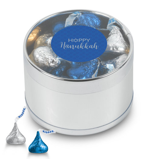 Happy Hanukkah Kisses Gift Tin