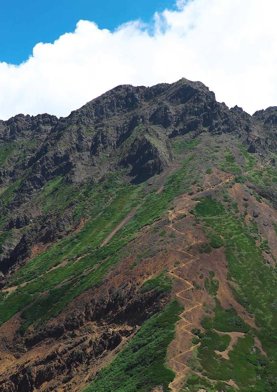 中岳から赤岳