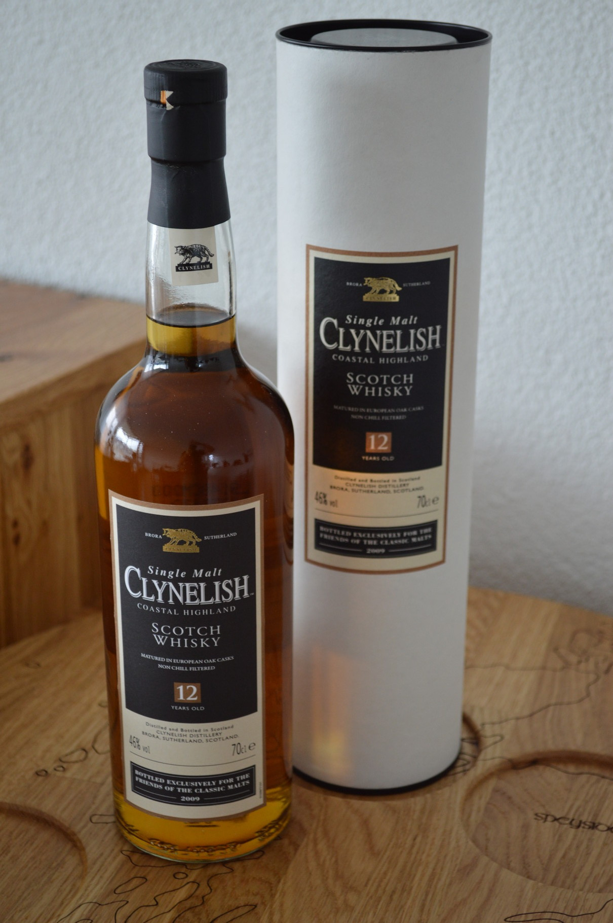 HIGHLANDS - Clynelish - Aged: 12 years - Bottler: Original - 70cl - 46% - Friends Of Classic Malts
