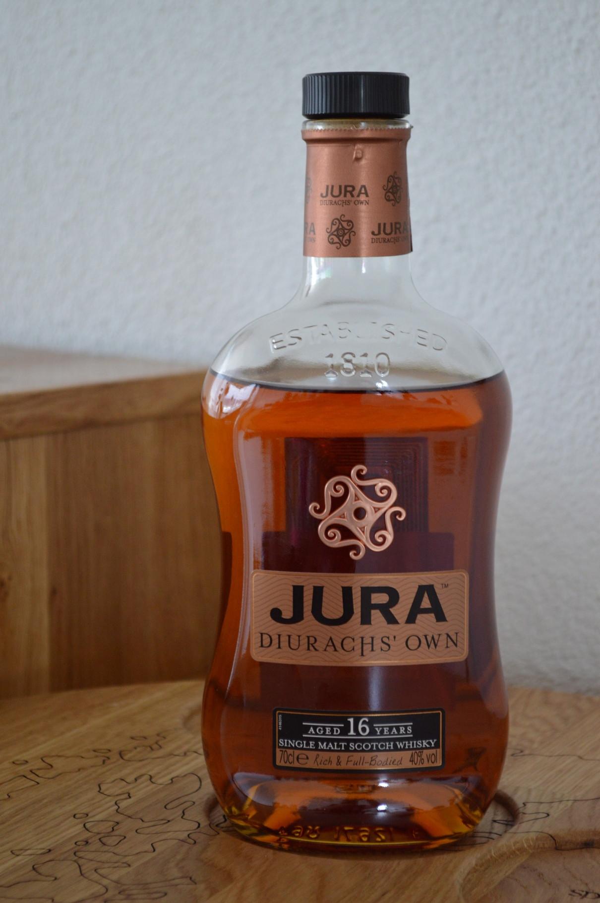 ISLANDS - Jura* - Aged: 16 years - Bottler: Original - 70cl - 40% - Diurachs Own