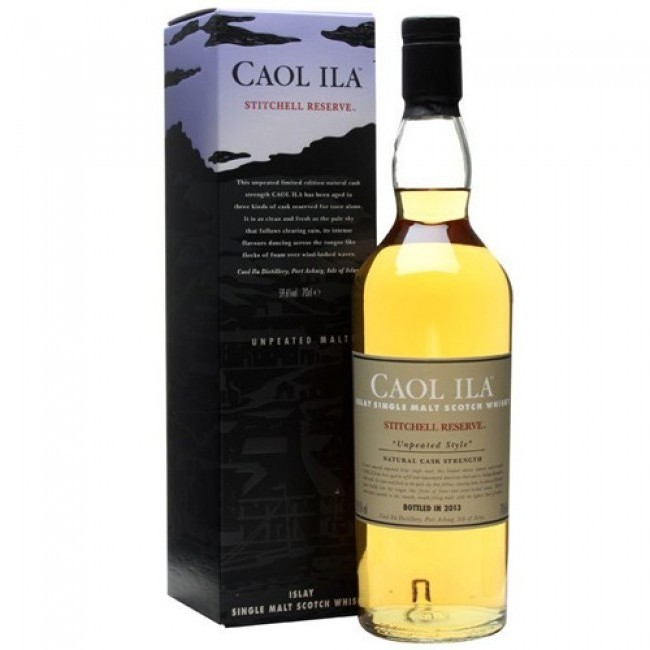 ISLAY - Caol Ila - Bottler: Original - 70cl - 59,6% - Unpeated Stitchell Reserve Special Release 2013