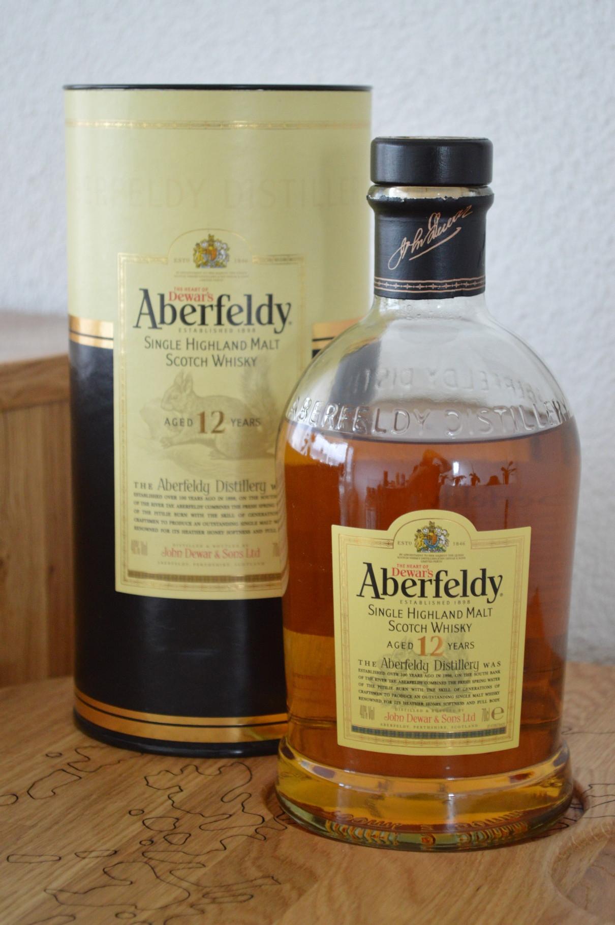 HIGHLANDS - Aberfeldy* - Age: 12 years - Bottler: Original - 70cl - 40%
