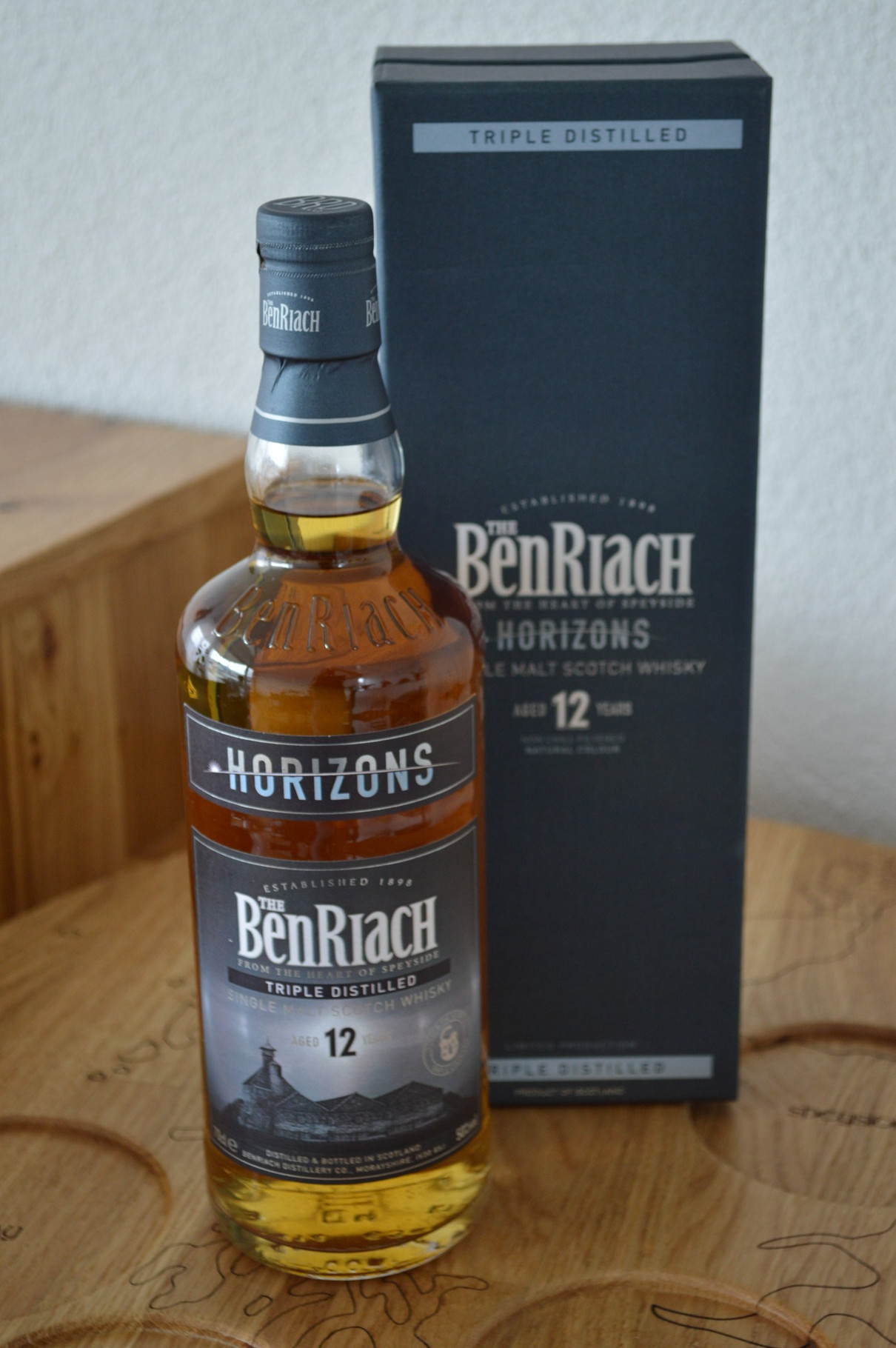 SPEYSIDE - BenRiach* - Aged: 12 years - Bottler: Original - 70cl - 50% - Horizons