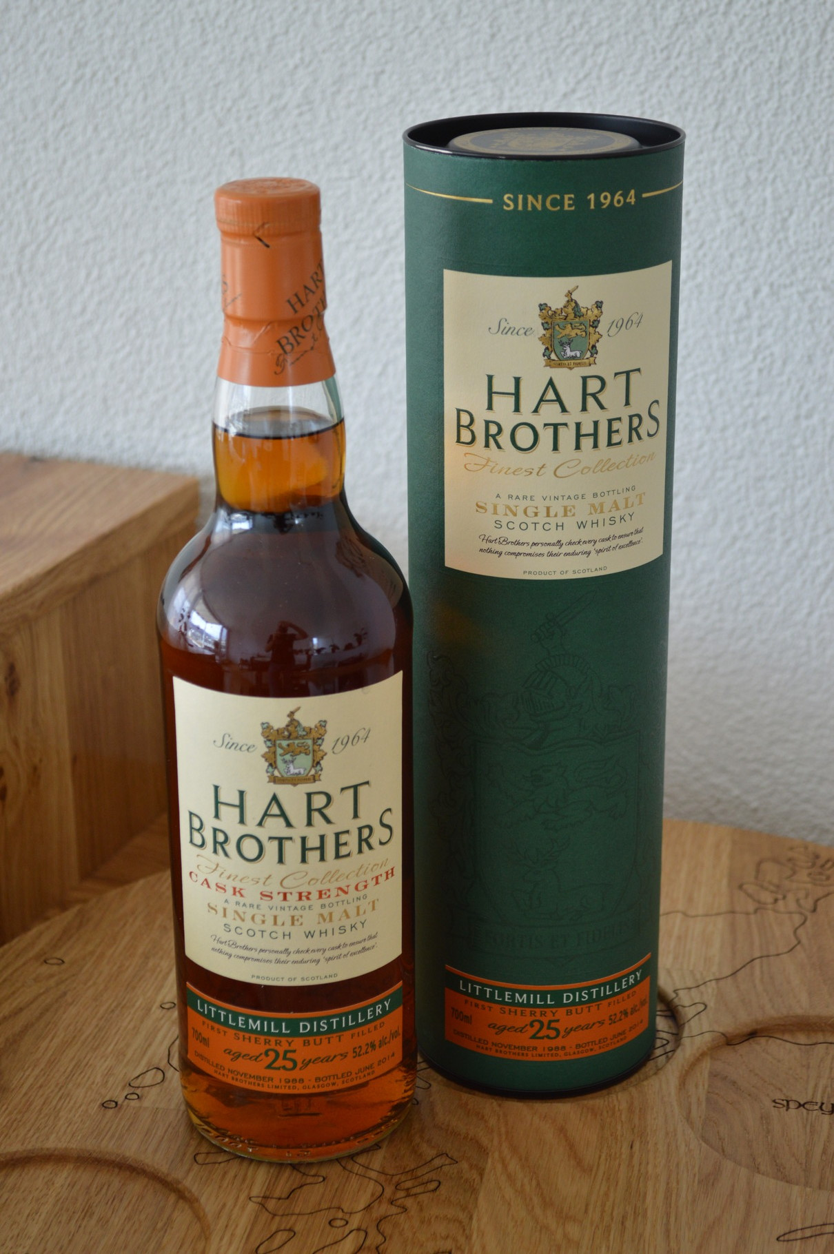 LOWLANDS - Littlemill* - Aged: 25 years - Bottler: Heartbrothers - 70cl - 52,2%