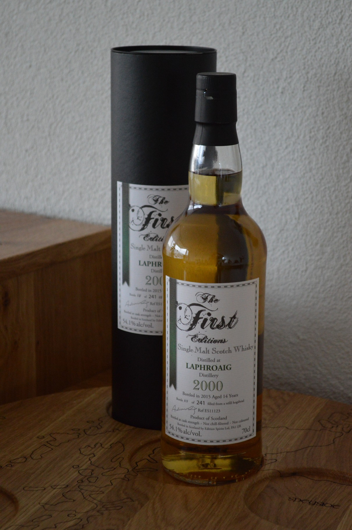 ISLAY - Laphroaig - Aged 10 years - Bottler: The first Edition - 70cl - 54,1%