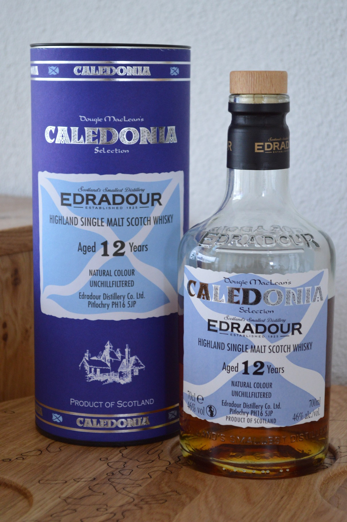 HIGHLANDS - Edradour* - Age: 12 years - Bottler: Original - 70cl - 46% - Caledonia