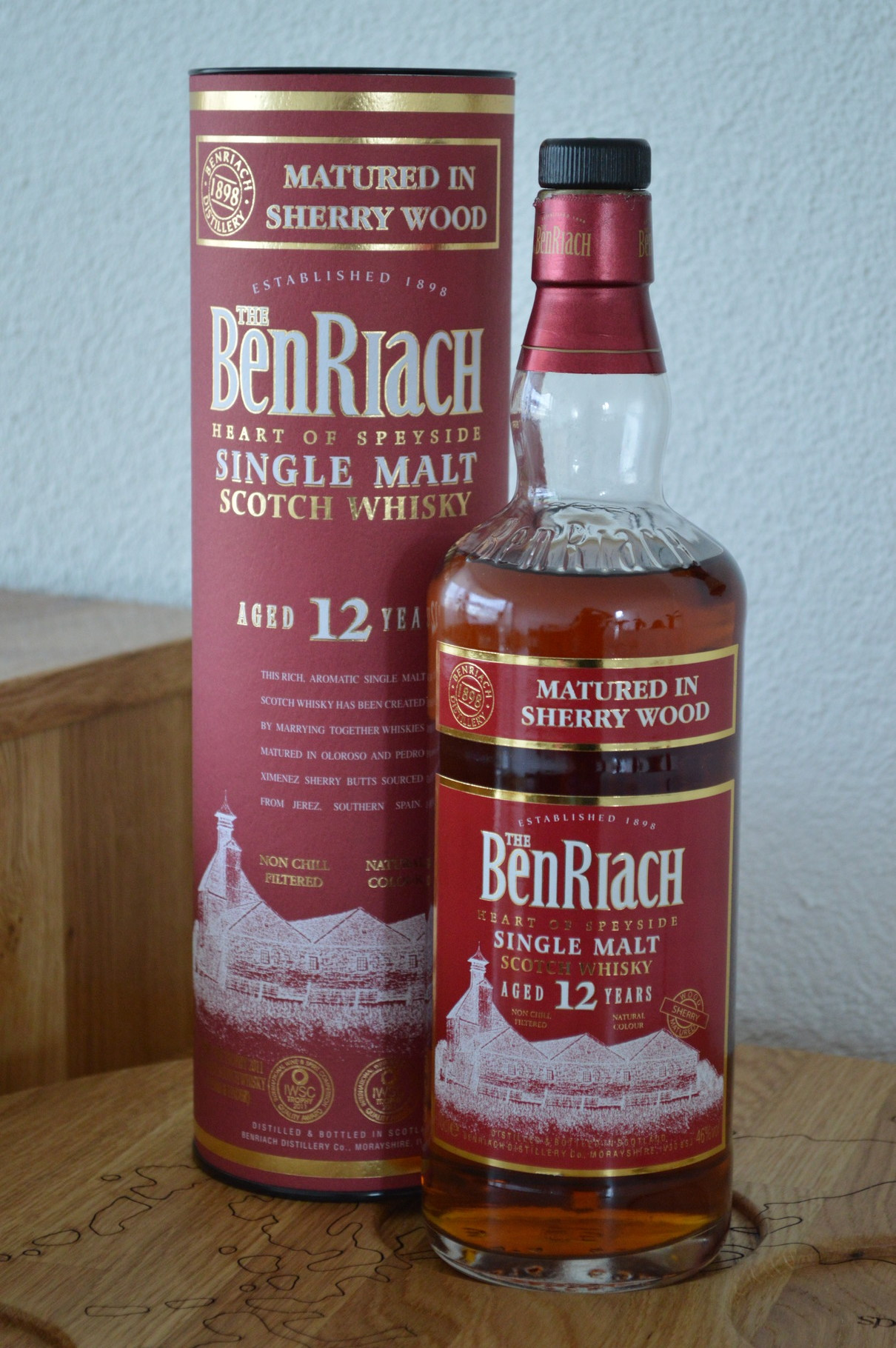 SPEYSIDE - BenRiach* - Aged: 12 years - Bottler: Original - 70cl - 46% - Sherry Wood Finish