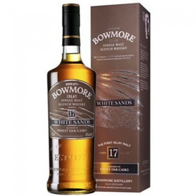 ISLAY - Bowmore - Aged: 17 - Bottler: Original - 70cl - 43% - White Sands