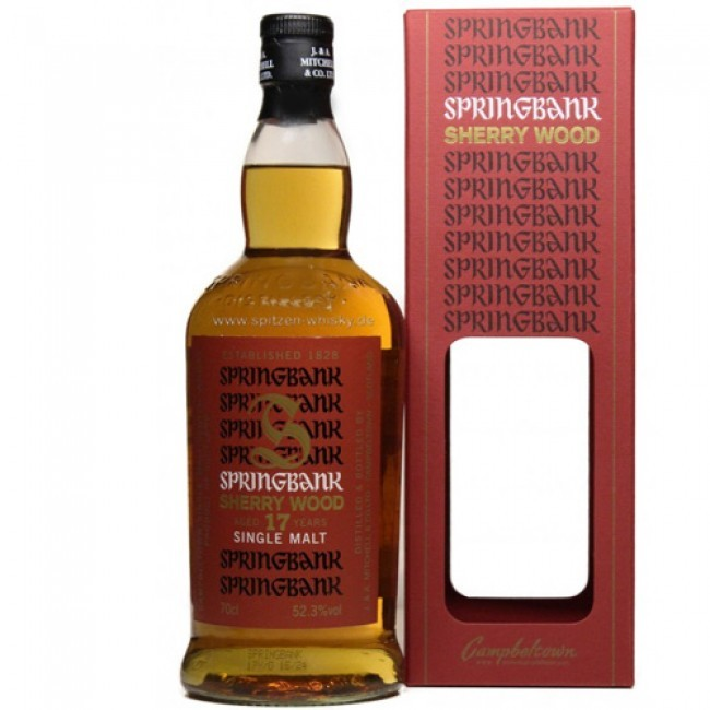 CAMPBELTOWN - Springbank - Age: 17 years - Bottler: Original - 70cl - 52,3% - Sherry Wood