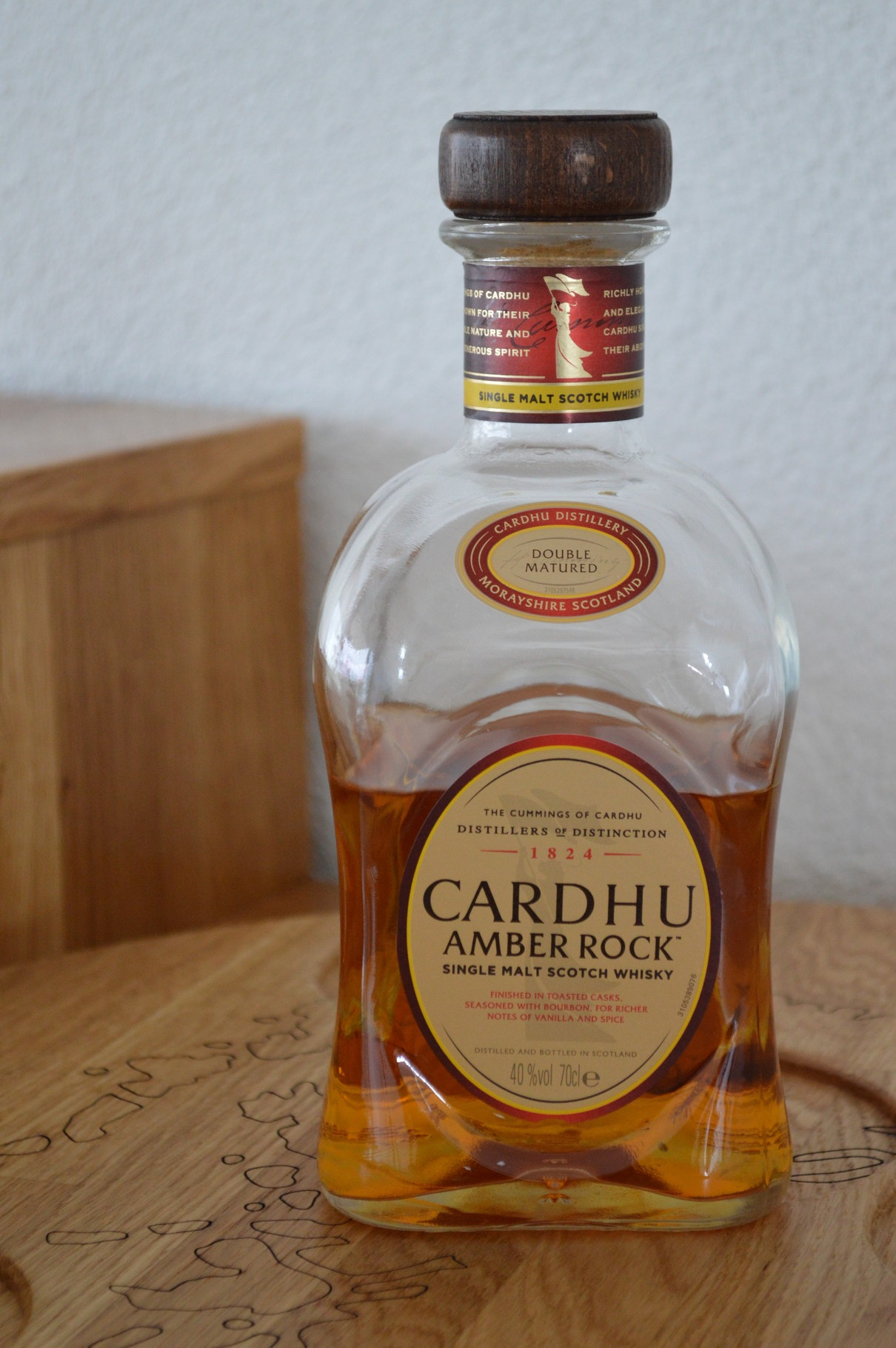 SPEYSIDE - Cardhu* - Bottler: Original - 70cl - 40% - Amber Rock