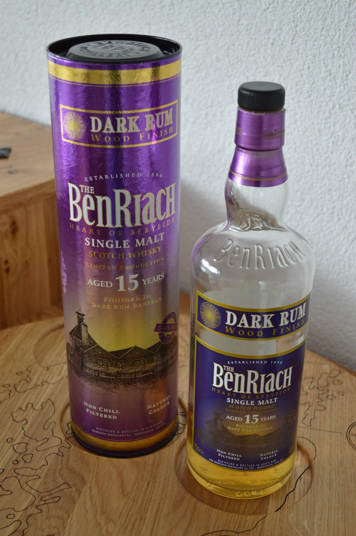 SPEYSIDE - BenRiach* - Aged: 15 years - Bottler: Original - 70cl - 46% - Dark Rum Finish