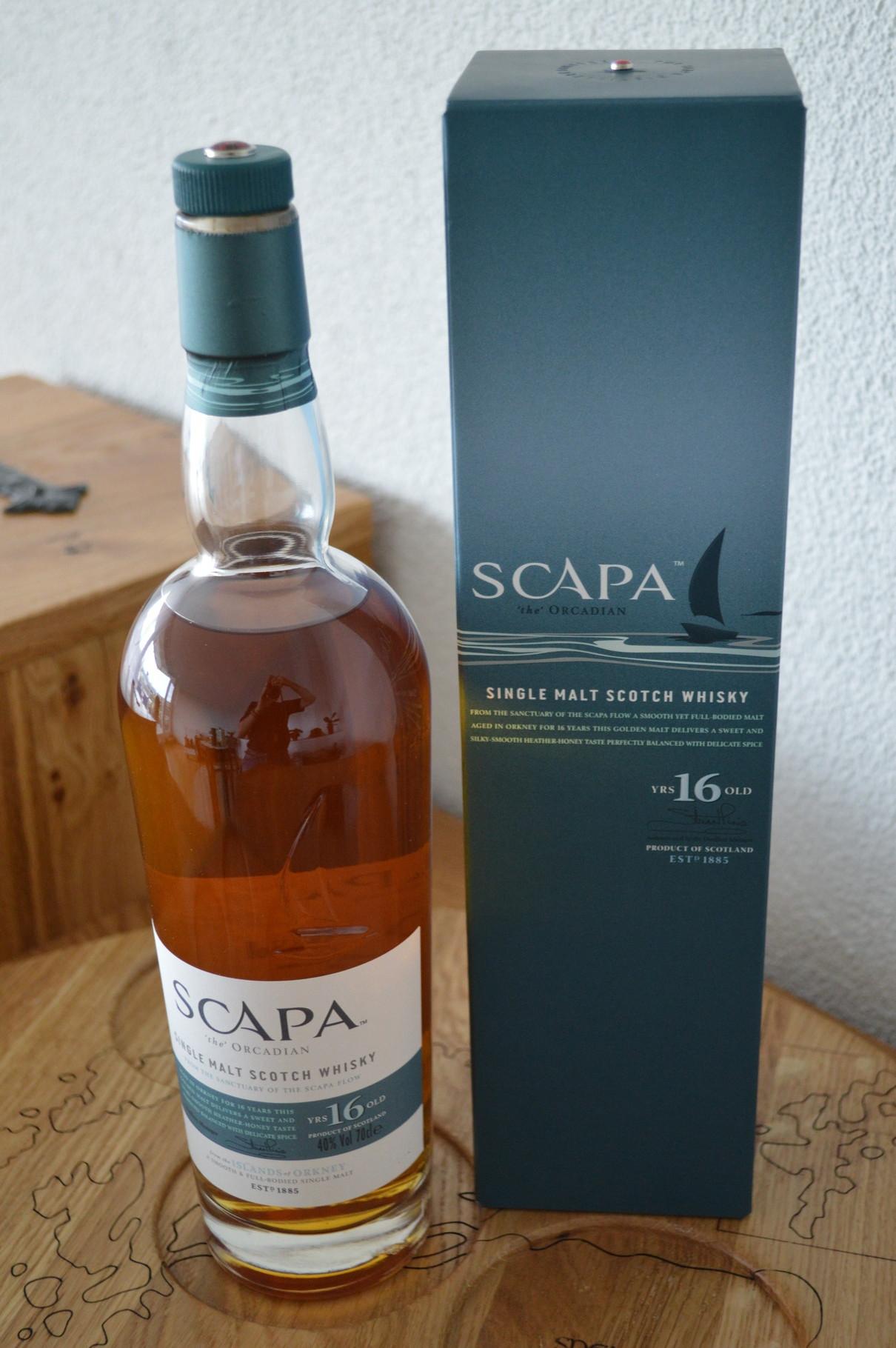 ISLANDS - Scapa* - Aged: 16 years - Bottler: Original - 70cl - 40%