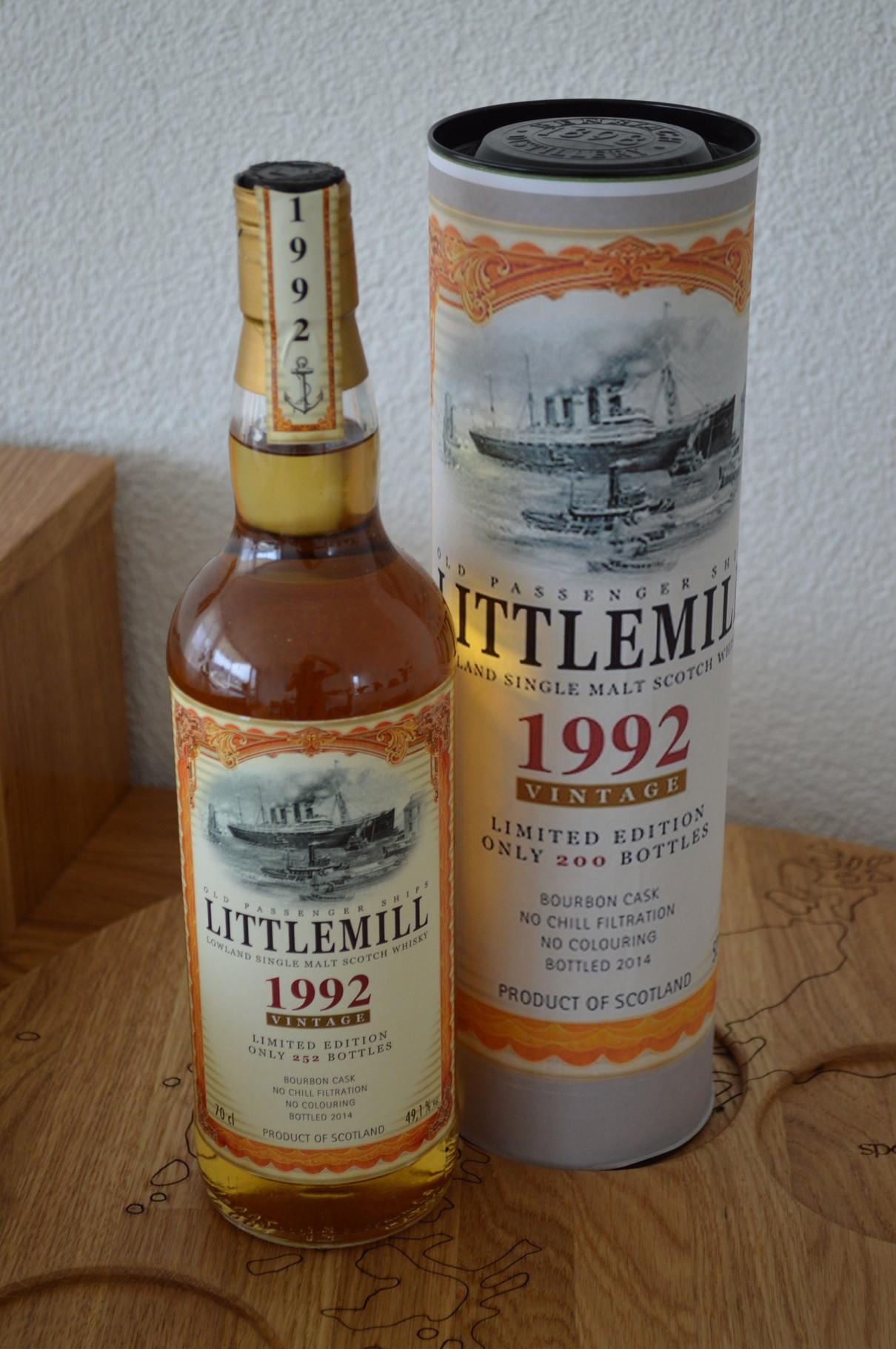 LOWLANDS - Littlemill* - Aged: 22 years - Bottler: Original - 70cl - 49,1%