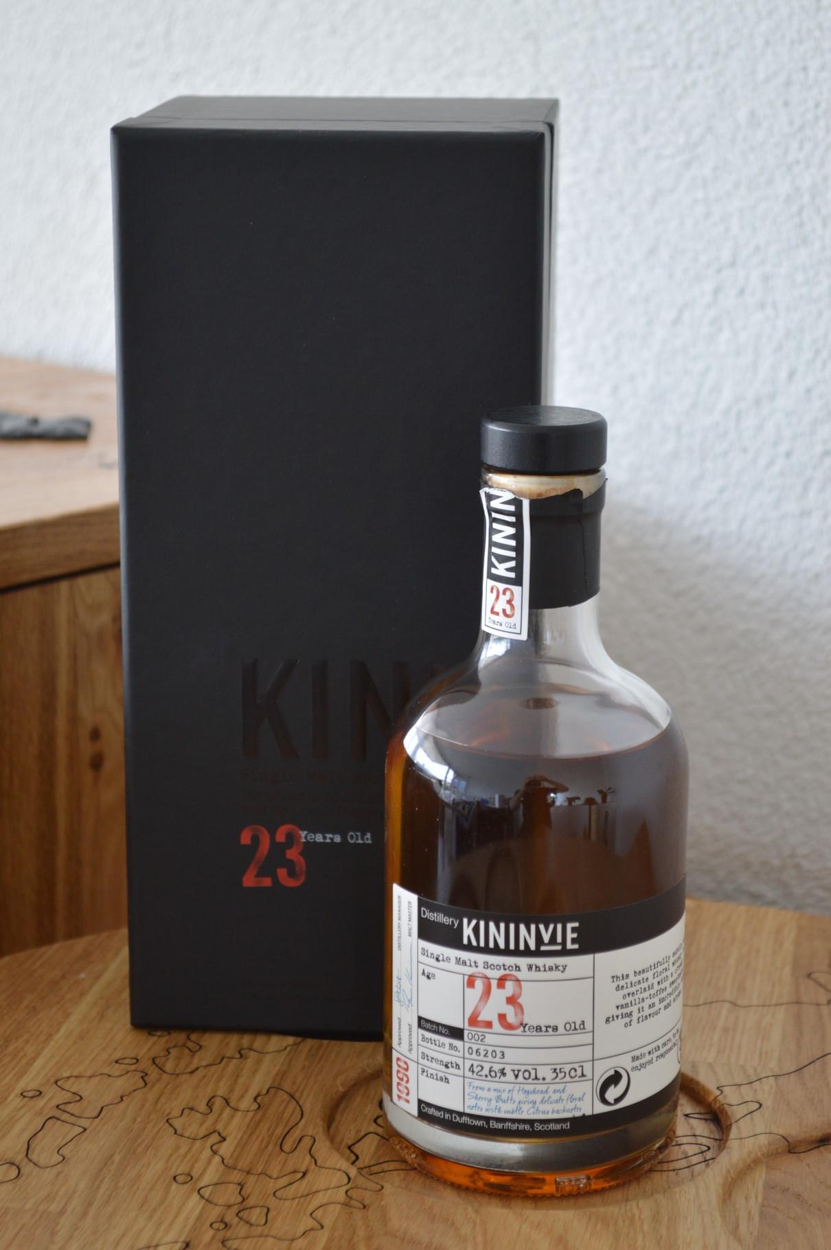 SPEYSIDE - Kininvie* - Age: 23 years - Bottler: Original - 35cl - 42,6% - Batch No. 2