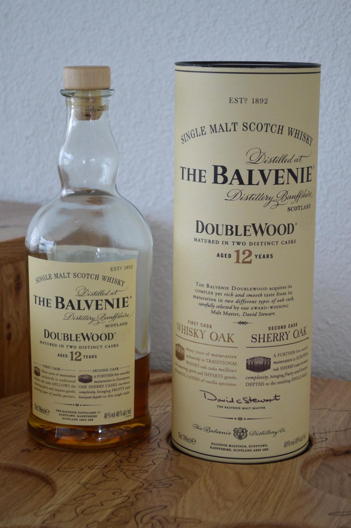 SPEYSIDE - The Balvenie* - Aged: 12 years - Bottler: Original - 70cl - 40% - Double Wood