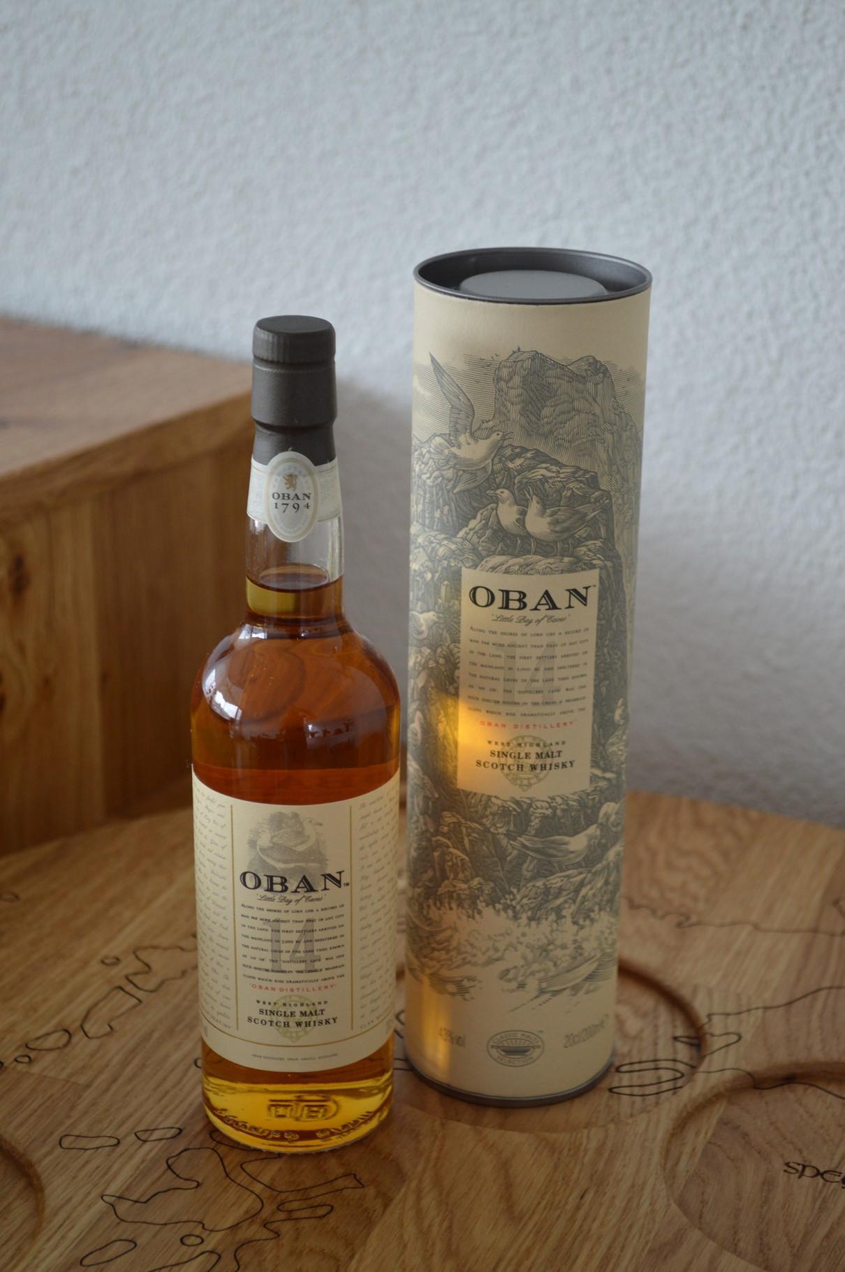 HIGHLANDS - Oban - Aged: 14 years - Bottler: Original - 20cl - 43%