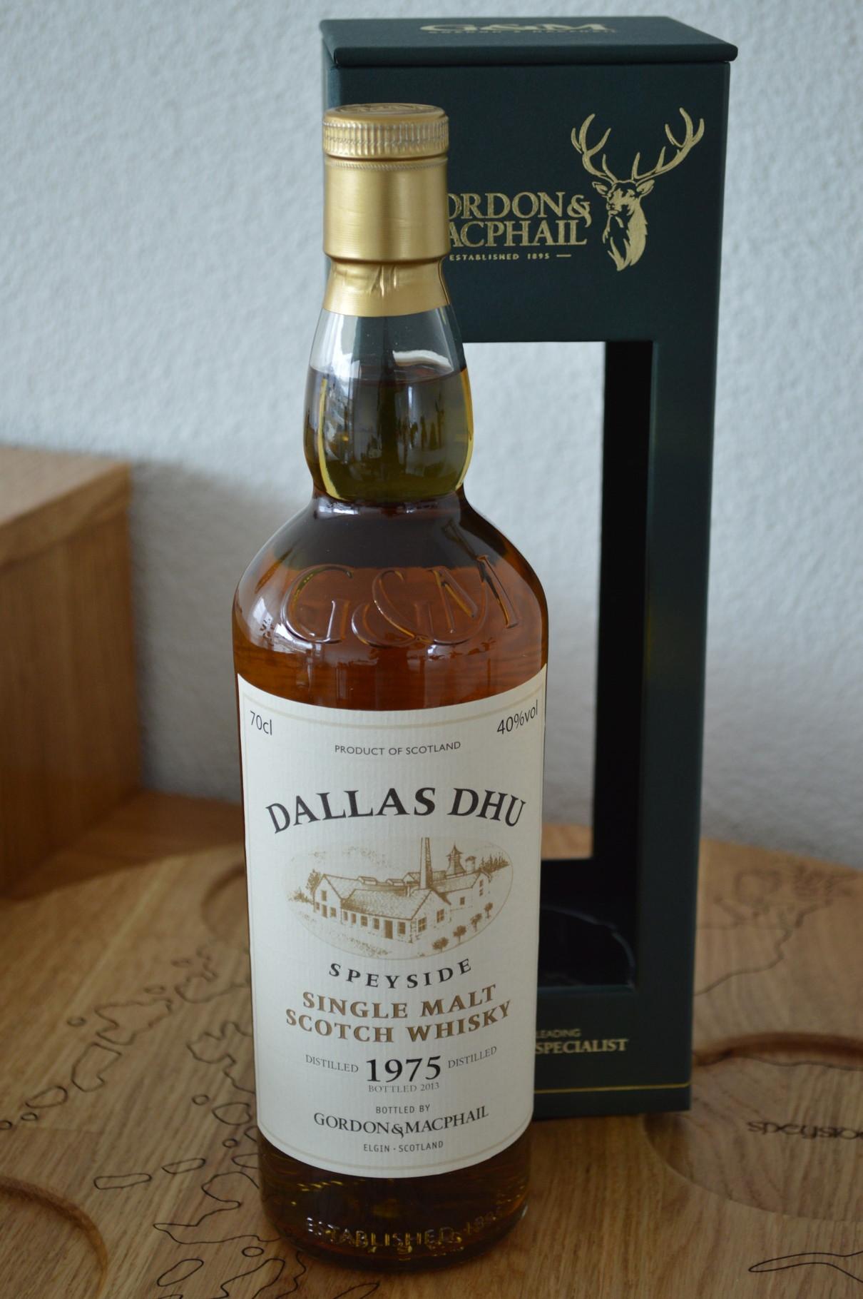 SPEYSIDE - Dallas Dhu* - Aged: 38 years - Bottler: Gordon & Macphail - 70cl - 40.0%