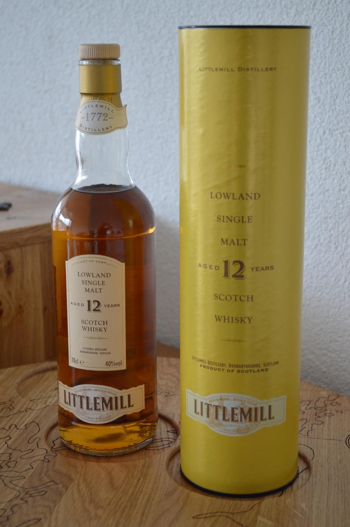 LOWLANDS - Littlemill* - Aged: 12 years - Bottler: Original - 70cl - 40%