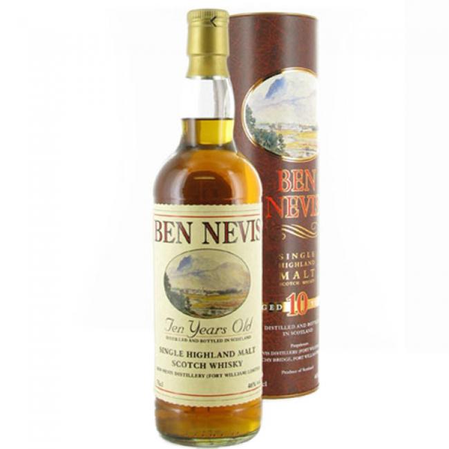 HIGHLANDS - Ben Nevis - Aged: 10 years - Bottler: Original - 70cl - 46%
