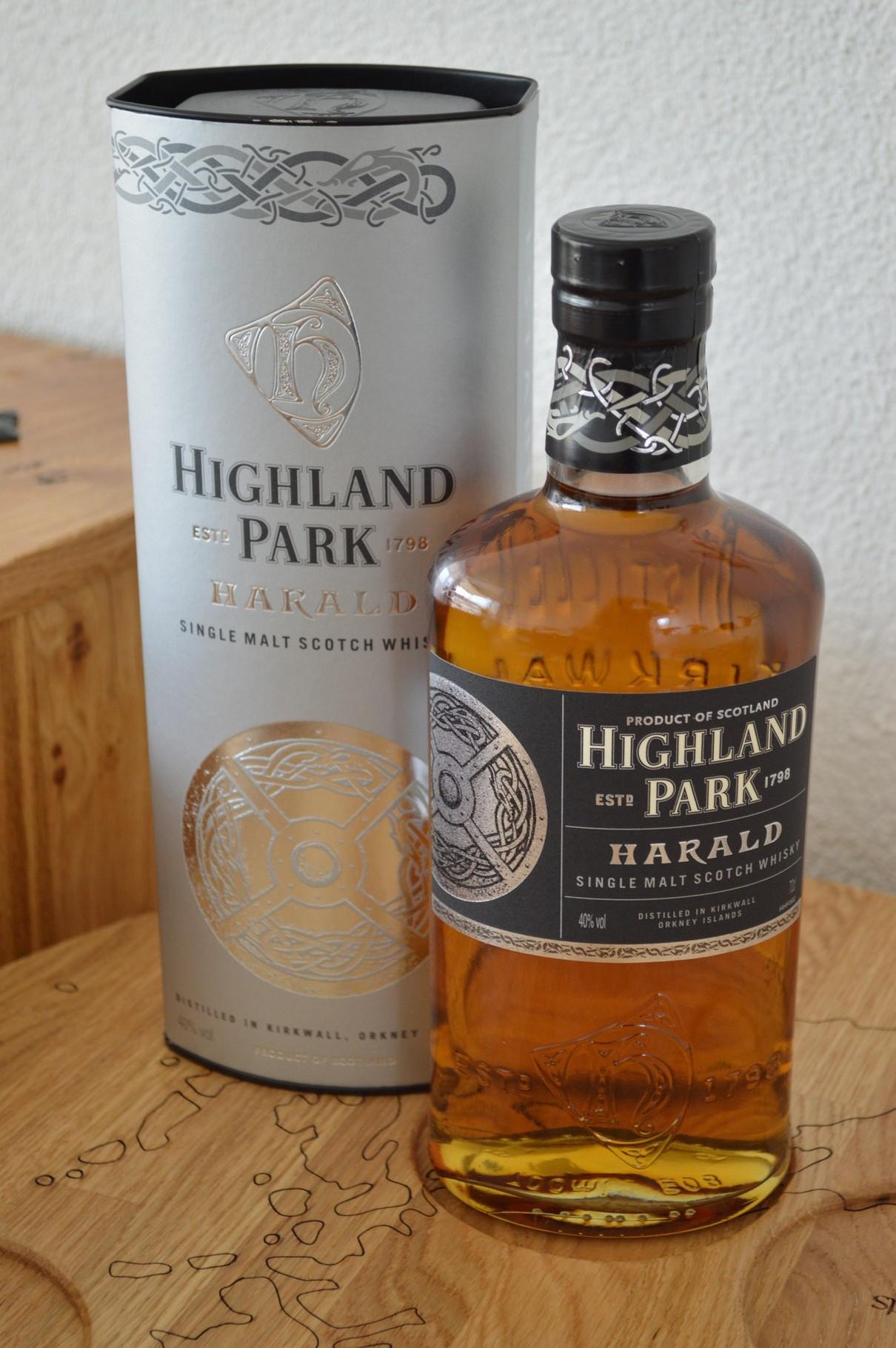 ISLANDS - Highland Park* - Bottler: Original - 70cl - 40% - King Harald