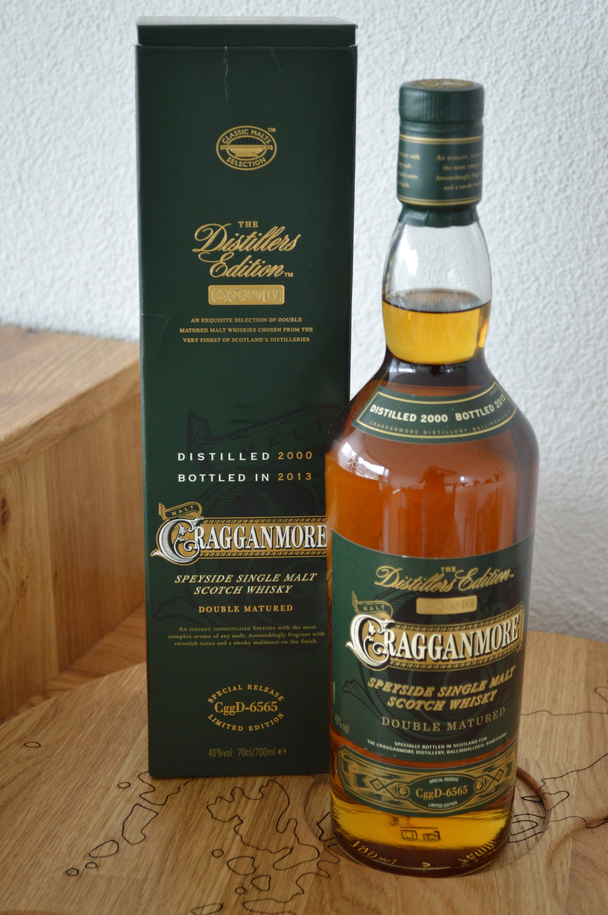 SPEYSIDE - Cragganmore* - Aged: 12 years - Bottler: Original - 70cl - 40% - The Distillers Edition