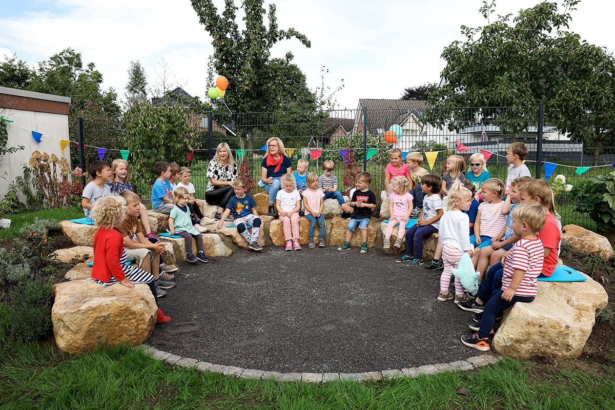 """Das Montessori-Kinderhaus hat jetzt ein """"Grünes Klassenzimmer"""""""