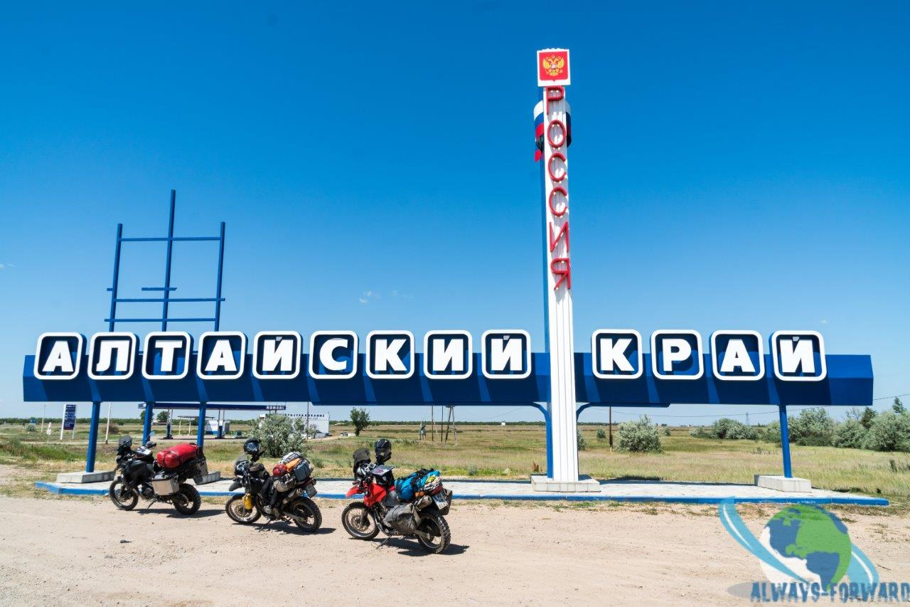an der russischen Grenze
