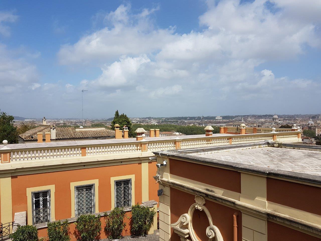 Aussicht auf Rom